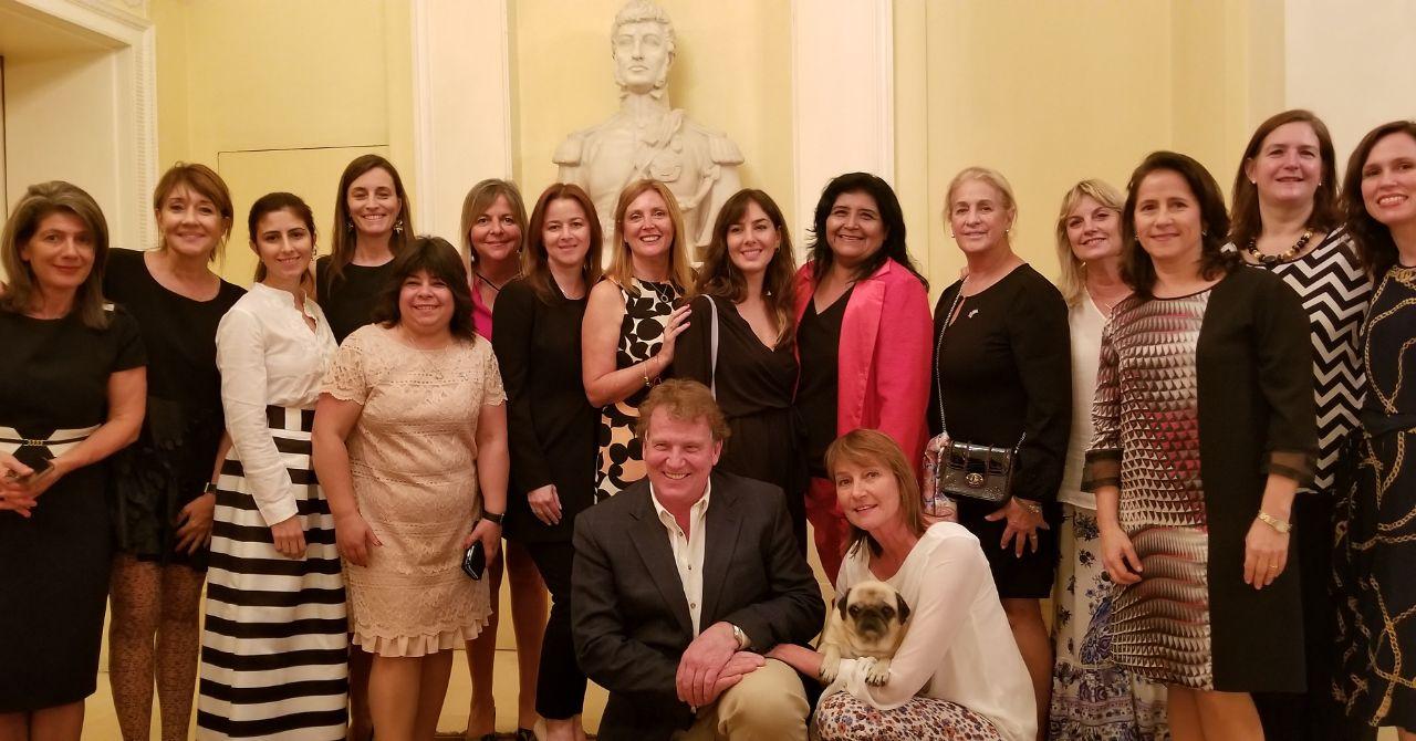 Las Embajadoras del CICyP y de la Argentina