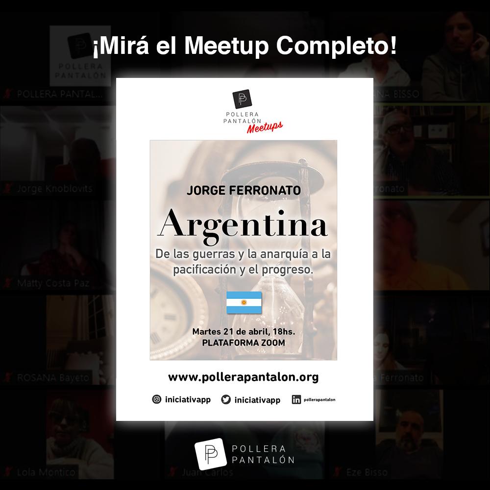 Video: Charla de Jorge Ferronato en PP Meetups