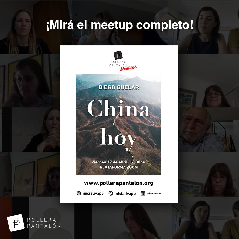 """PP Meetups – Diego Guelar: """"China hoy"""""""
